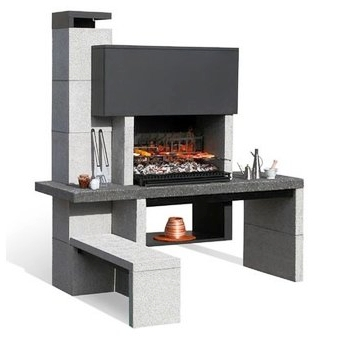 les barbecues fixes france barbecue. Black Bedroom Furniture Sets. Home Design Ideas
