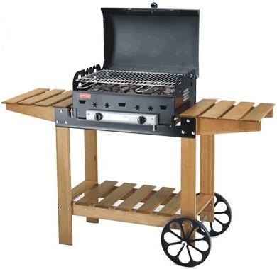 barbecue gaz traditionnel
